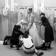 For #TheWomenBehindTheLens project Janette Beckman went from the ateliers to the backstage at #MariaGraziaChiuri's first Dior show to draw attention to all the people involved in bringing the Spring-Summer 2017 collection to life along every step of the way up to its appearance on the runway.  via DIOR OFFICIAL INSTAGRAM - Celebrity  Fashion  Haute Couture  Advertising  Culture  Beauty  Editorial Photography  Magazine Covers  Supermodels  Runway Models
