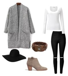 """Bez tytułu #13"" by anna-mikulska on Polyvore featuring moda, Jigsaw, Monki, Madewell i HTC"