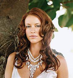 curly down wedding hair | Women Hairstyles Ideas