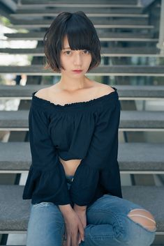 Beautiful Japanese Girl, Japanese Beauty, Blonde Actresses, Japan Girl, Japanese Models, Bellisima, Girl Pictures, Her Style, Girl Hairstyles