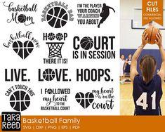 Basketball svg / svg for Cricut / svg for Silhouette / Basketball / Basketball mom / Basketball dad / Commercial Use Allowed