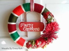 Crystal's Crazy Combos: Wreaths by Emma Ruth