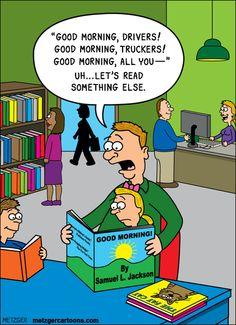 If Samuel L. Jackson wrote a children's book...