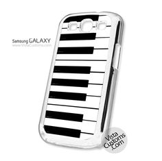 Piano Keyboard Phone Case For Apple, iphone 4, 4S, 5, 5S, 5C, 6, 6 +, iPod, 4 / 5, iPad 3 / 4 / 5, Samsung, Galaxy, S3, S4, S5, S6, Note, HTC, HTC One, HTC One X, BlackBerry, Z10
