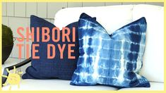These precious summery pillows are everywhere, and now you can make them at home! Shibori tie dye is the new kind of that will make everything look better. Sharpie Tie Dye, Tie Dye Shoes, How To Dye Shoes, Cricut Stencil Vinyl, Shibori Tie Dye, Indigo Dye, How To Dye Fabric, Tye Dye, Pug