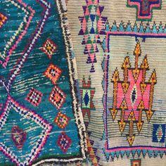 3 x 5 türkis marokkanischen Azilal Teppich von TheBloomingLoomShop