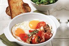 Μελάτα αυγά τηγανητά Food Categories, Hummus, Brunch, Eggs, Healthy, Breakfast, Ethnic Recipes, Food Food, Yum Yum