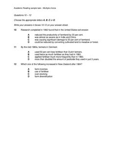 ielts reading multiple choice questions pdf