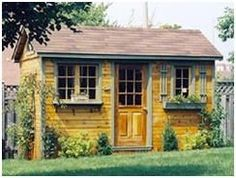 Design Your Own Garden Shed - Use CabanaVillage.coms online Design Center. Then, order your plans or an easy-to-assemble cedar building kit.