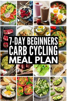 Carb Cycling for Weight Loss: 7-Day Carb Cycling Meal Plan...