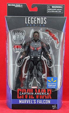 Marvel Legends Marvel's Falcon Action Figure Captain America Civil War Exclusive #Hasbro