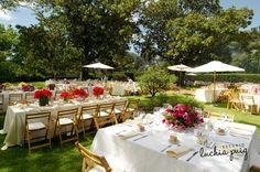 Ambientación de boda con estilo campestre - Fotografia Eventia en exclusiva para CasarCasar