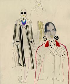 Milan Fashion Week SS16 Prada by Cecilia Carlstedt