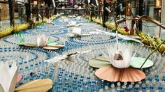 FRAGILE – Recycled Art Installation by Roadsworth