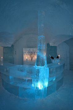 Ice Bar Hotel in Alta, Norway