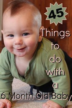45 Things To Do With A Six Month Old Baby