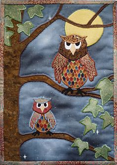 What can I say? I have always loved owls.