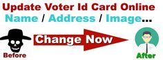 voter id name change process