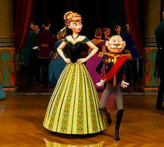 Disney Challenge Day 23: favorite dance scene. Just a little hip shaking, from the princess