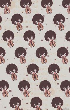 Chibi Wallpaper, Dog Wallpaper, Cellphone Wallpaper, Iphone Wallpaper, Dazai Bungou Stray Dogs, Stray Dogs Anime, Bungou Stray Dogs Wallpaper, Anime Lock Screen, Dazai Osamu