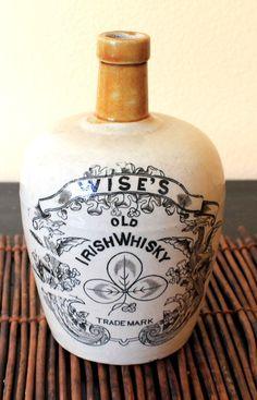 Wise's Old IRISH WHISKY jug