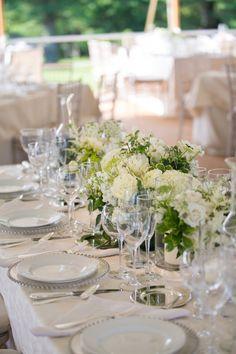 Wedding Venue: Four Winds Farm  - no url Wedding Dress: Monique Lhuillier - moniquelhuillier.com Floral Design: Felicity Bontecou - no url   Read More on SMP: http://www.stylemepretty.com/2013/10/22/salisbury-connecticut-wedding-from-sara-wight-photography/