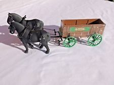 1994 REMINGTON ARMS - DRAFT HORSES w/ WAGON - 1:28 Scale FIRST GEAR
