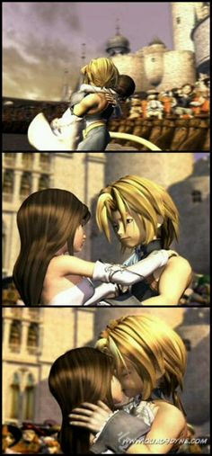 D'awww! Dagger and Zidane (FF9)