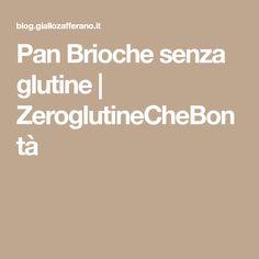 Pan Brioche senza glutine | ZeroglutineCheBontà