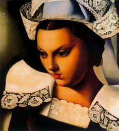 Bretonne, Peinture de Tamara de Lempicka