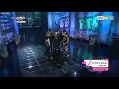 130614 Music Bank BTS Debut Stage - We Are Bulleproof+No More Dream
