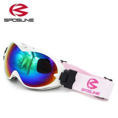SPOSLINE Anti Fog Ski Snowboard Goggles - Kid's
