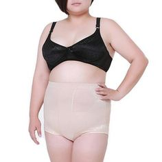 b6342fb6f7 Plus Size High Waisted Girdle Shapewear  27.01 CAD Tummy Slimmer