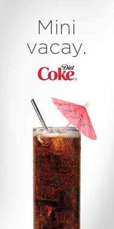 Diet Coke is my happy place.