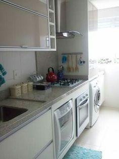 Lava-louça em cozinha pequena