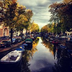 Autumn in Amsterdam | canals
