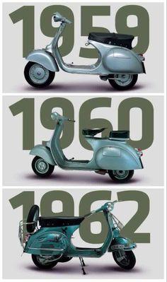 Vespa Evolution #Scooters #ItalianDesign