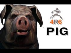 ▶ Zbrush 4R6 - Pig - Timelapse Modeling - YouTube