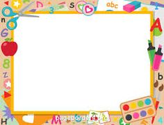 Printable Preschool Graduation Border This Landscape Border With Free Preschool Graduation Border Templates Including Printable Border Paper And Clip Art Versions File Formats Include Gif Jpg Pdf And Png Certificate Background, Certificate Frames, Certificate Border, Preschool Certificates, School Border, Border Templates, School Frame, School Clipart, Page Borders