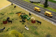 farm toy displays - Google Search