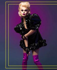 Trinity Taylor • RuPaul's Drag Race • Season 9 Rupaul, Trinity Taylor, The Vivienne, Pantomime, Drag Queens, Good Looking Men, Wig Hairstyles, Style Icons, Alaska