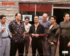 The Sopranos Movie Poster x 17 Inches - x Style C -(James Gandolfini)(Lorraine Bracco)(Edie Falco)(Michael Imperioli)(Dominic Chianese)(Vincent Pastore) Les Sopranos, Best Tv Shows, Best Shows Ever, Favorite Tv Shows, Favorite Things, Mafia, Christopher Moltisanti, Don Corleone, Movies