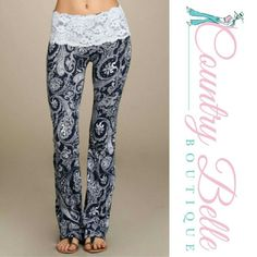 """Coming soon comment if you want tagged. These will be $33.00.  Stretch waist, pull on style.  95% Cotton, 5% Spandex.  Quality made in the USA.  Small:  Waist = 28"""", will stretch to 32"""". Hip 34"""" to 38"""".  Inseam = 35"""" long,  Rise 8.5"""", Flare Leg Opening 18""""  Medium: Waist = 30"""", will stretch to 34"""". Hip  36"""" to 40"""". Inseam = 35"""" long, Rise 9"""", Flare Leg Opening 19""""  Large: Waist = 32"""", will stretch to 36"""". Hip  38"""" to 42"""". Inseam = 35"""" long, Rise 9.5"""", Flare Leg Opening 20"""" Pants Boot Cut…"""