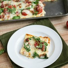 Easy White Low Carb Pizza