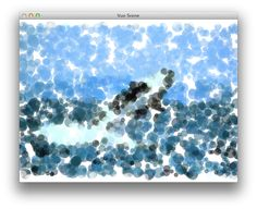 """New Vuo composition from jstrecker: """"Pointillism by sampling colors"""""""