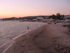 Atardecer playa de Hamammet (Tunisia)