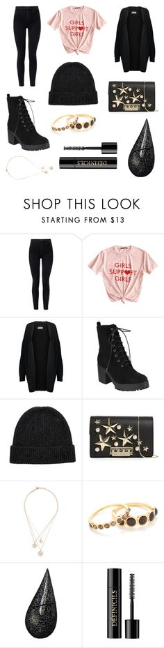 """""""What Do You Want"""" by alaxaaleys ❤ liked on Polyvore featuring J Brand, By Malene Birger, The North Face, ZAC Zac Posen, Givenchy, Gorjana, La Prairie and Lancôme"""