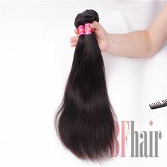 BF Hair 3Pcs/lot Bundle Deals 6A Grade Retail Brazilian Virgin Straight Hair - BF Hair