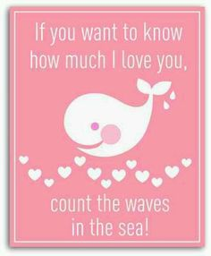 Yes..... count the waves in the sea ~ that's how much I love you Hayley!!!