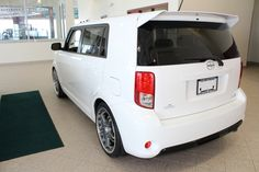 2013 Scion xB with TRD rims and exhaust + rear spoiler